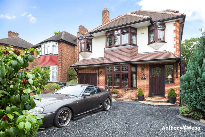 5 Bedrooms Detached House for sale in Oakwood Park Road, Southgate N14