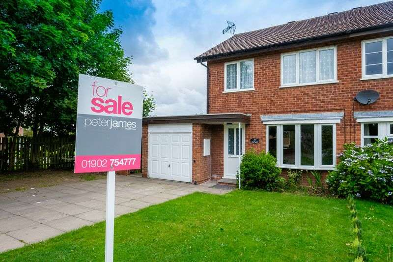3 Bedrooms Terraced House for sale in Sutherland Grove, Perton, Wolverhampton
