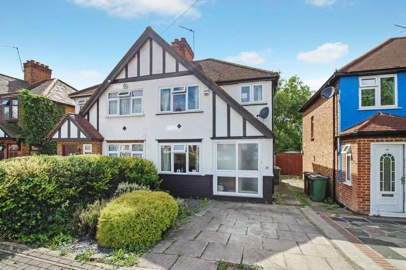 3 Bedrooms Semi Detached House for sale in Belsize Road, Harrow Weald