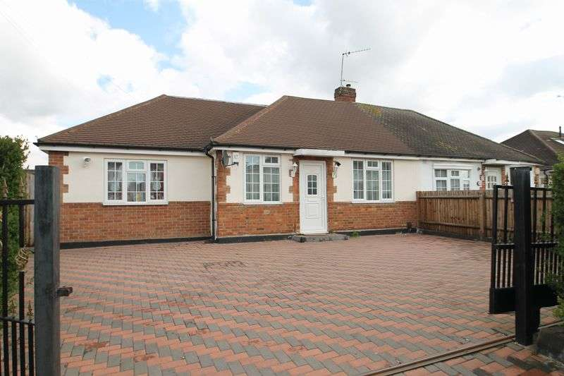 4 Bedrooms Semi Detached Bungalow for sale in Norwood Gardens, Hayes, Middlesex