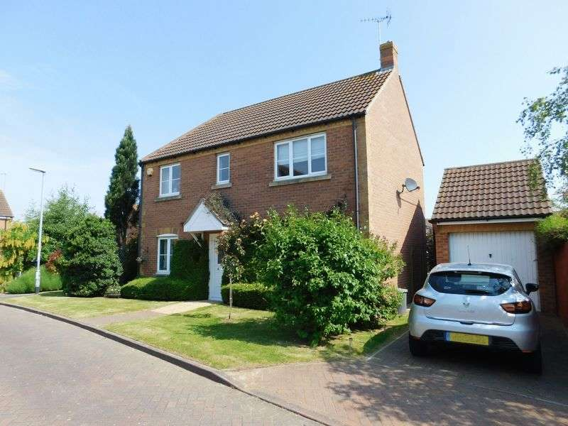 4 Bedrooms Semi Detached House for sale in Harvest Mews, Deeping St Nicholas