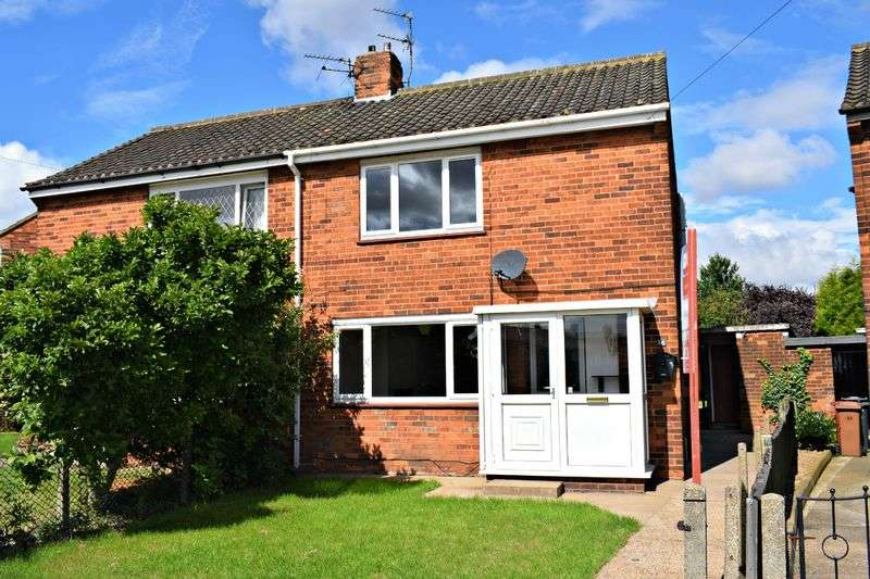 2 Bedrooms Semi Detached House for sale in Harrowdyke, Barton-Upon-Humber