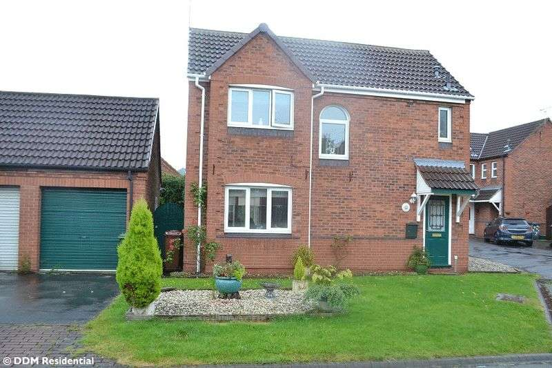 3 Bedrooms Detached House for sale in Coltsfoot Close, Scunthorpe, DN15 8PN