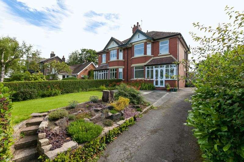 3 Bedrooms Semi Detached House for sale in Rockhaven, Chorley Road, Parbold, WN8 7AN