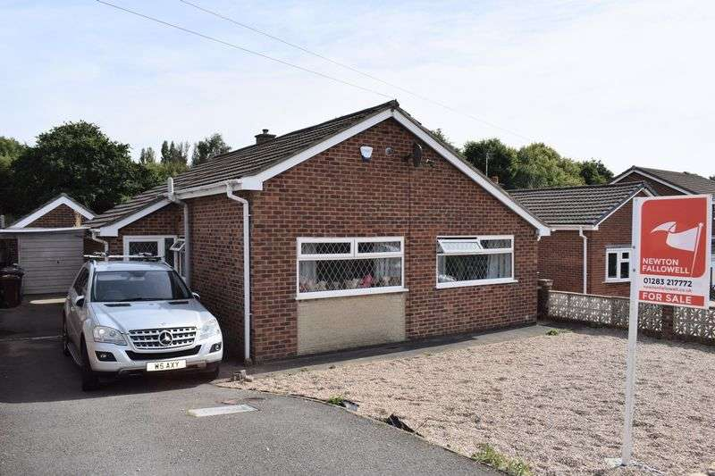 2 Bedrooms Detached Bungalow for sale in Tennyson Avenue, Swadlincote