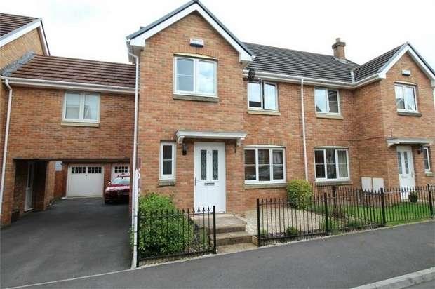 3 Bedrooms Semi Detached House for sale in Hanbury Grove, PONTYPOOL, Torfaen