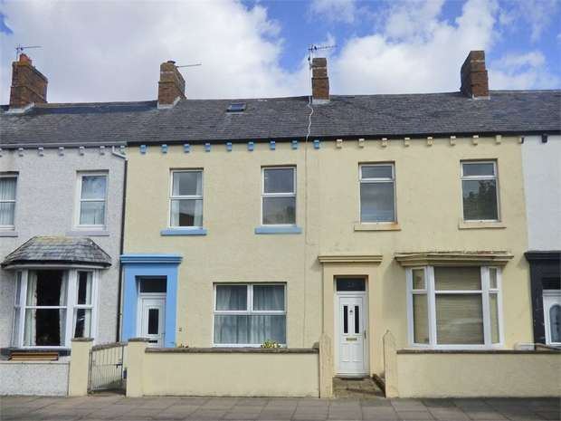 4 Bedrooms Terraced House for sale in Wampool Street, Silloth, Wigton, Cumbria