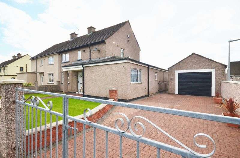 3 Bedrooms Semi Detached House for sale in Douglas Road, Workington