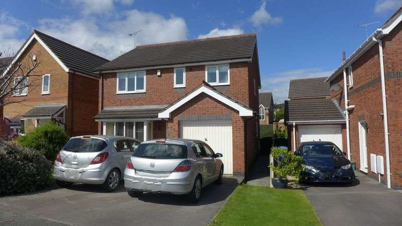 4 Bedrooms Detached House for sale in Bedwell Close, Wrexham