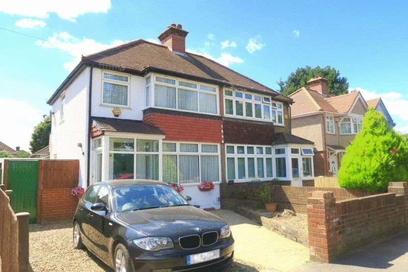 3 Bedrooms Semi Detached House for sale in CAINS LANE, BEDFONT