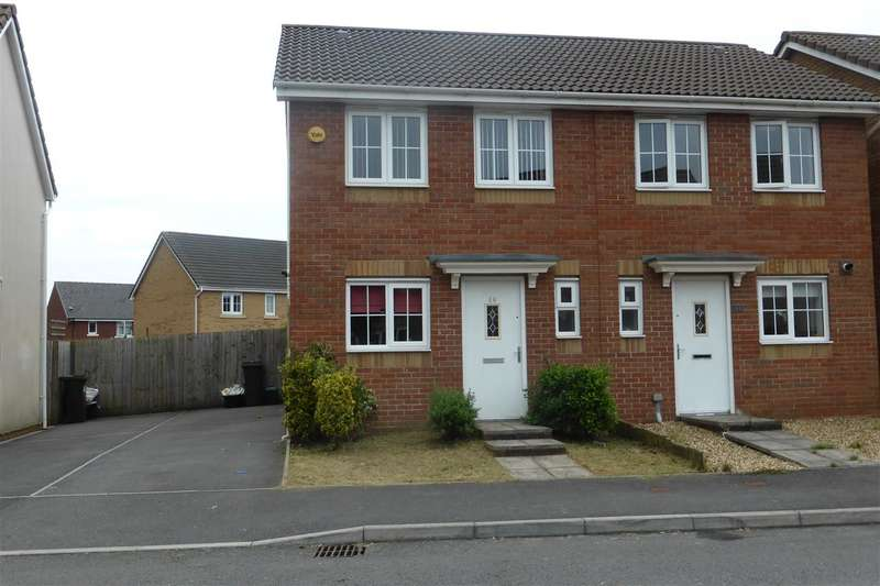 2 Bedrooms Semi Detached House for sale in 46 Abbottsmoor, Baglan, Port Talbot