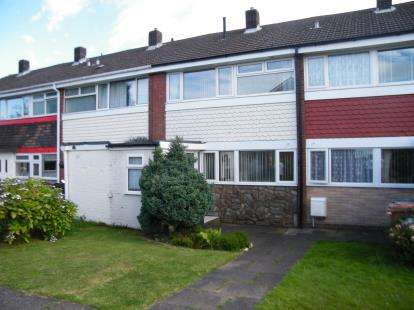 3 Bedrooms Terraced House for sale in Thistledown Avenue, Burntwood, Staffordshire