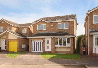 4 Bedrooms Detached House for sale in Wychwood Grove, Sothall, Sheffield, South Yorkshire