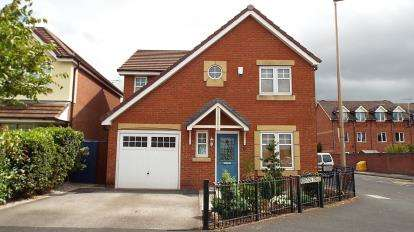 4 Bedrooms Detached House for sale in Kidston Drive, Crewe, Cheshire