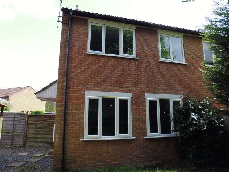 2 Bedrooms Semi Detached House for sale in Woodvale Close, Lincoln