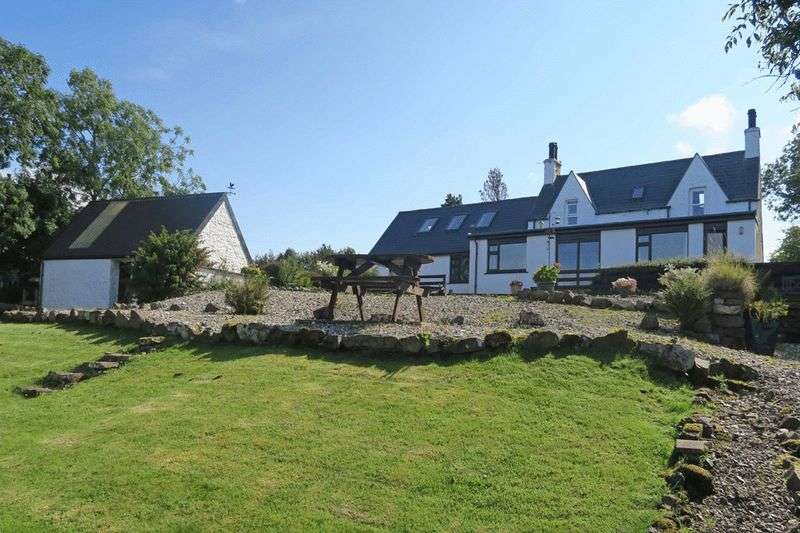 5 Bedrooms Cottage House for sale in NETHALLAN: Shoreside position, S Skye, 5 beds, 4 en-suite, outbuildings