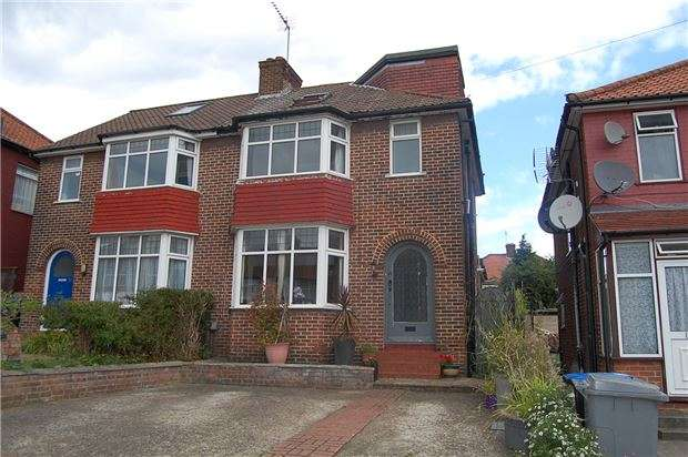 4 Bedrooms Semi Detached House for sale in Crummock Gardens, KINGSBURY, NW9 0DG