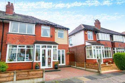 4 Bedrooms Semi Detached House for sale in Lisburne Avenue, Offerton, Stockport, Cheshire