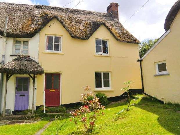 3 Bedrooms End Of Terrace House for sale in The Square, Petrockstowe, Okehampton, Devon