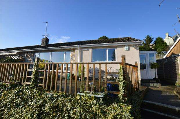 2 Bedrooms Semi Detached Bungalow for sale in Rundle Road, Newton Abbot, Devon