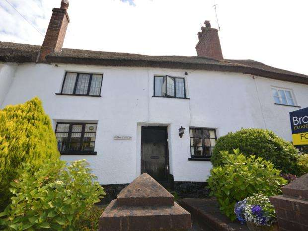 2 Bedrooms Terraced House for sale in Station Road, Newton Poppleford, Sidmouth, Devon