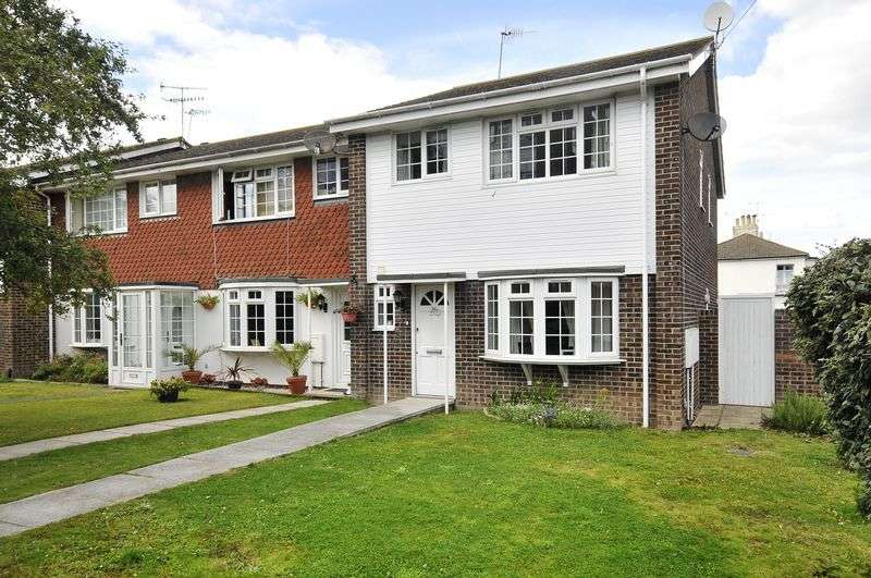 3 Bedrooms Terraced House for sale in Victoria Park Gardens, Worthing