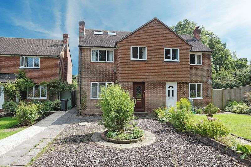 4 Bedrooms Semi Detached House for sale in Elm Close, Laughton, East Sussex
