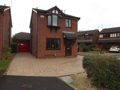 3 Bedrooms Detached House for sale in Hereford Avenue, Great Sutton, Ellesmere Port, Cheshire, CH66