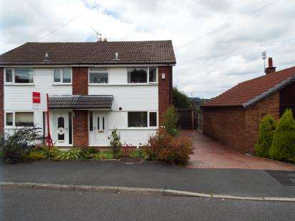 3 Bedrooms Semi Detached House for sale in Linden Lea, Feniscowles, Blackburn, Lancashire