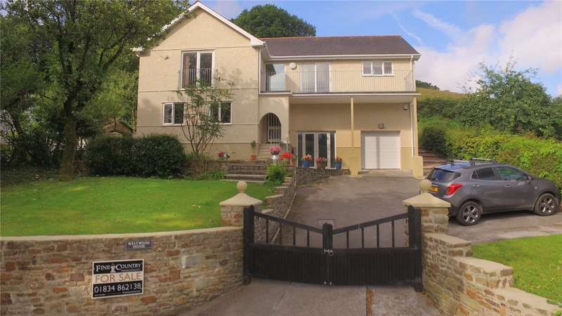 5 Bedrooms Detached House for sale in Westwood, Llanddowror, St. Clears, Carmarthen