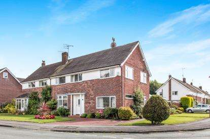 4 Bedrooms Semi Detached House for sale in Hope Avenue, Handforth, Wilmslow, Cheshire