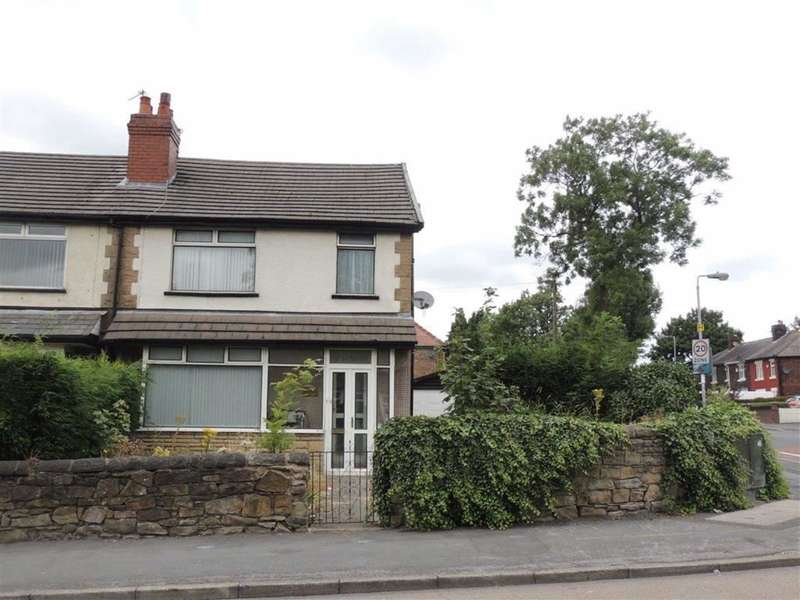 3 Bedrooms Semi Detached House for sale in Talbot Road, Newton, HYDE