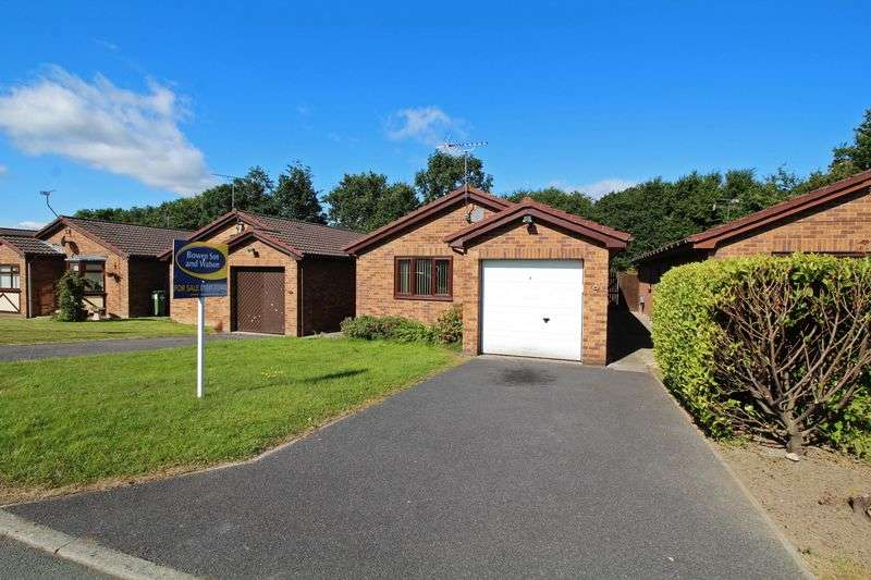 2 Bedrooms Detached Bungalow for sale in Derwen, Chirk