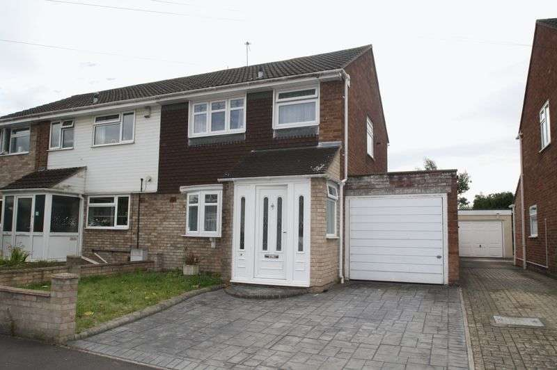 3 Bedrooms Semi Detached House for sale in Selden Road, Stockwood, Bristol, BS14