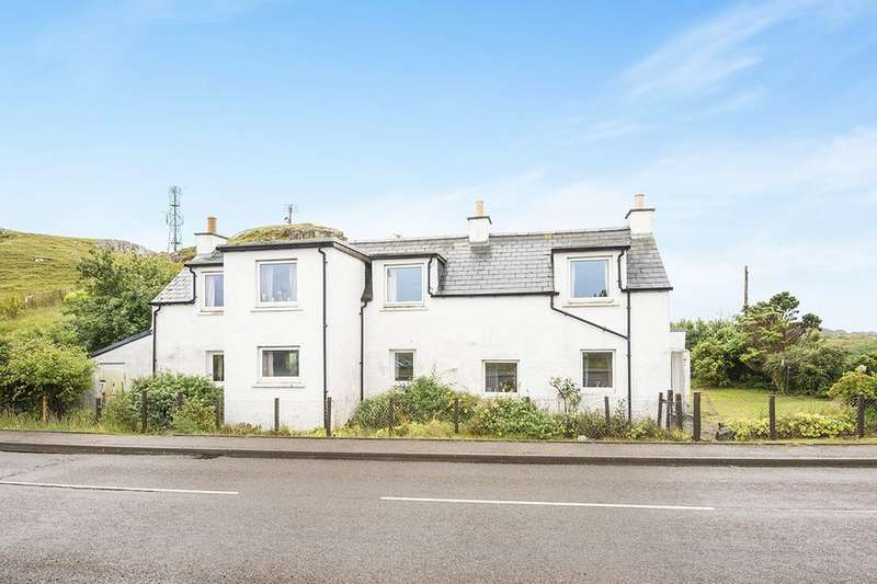 5 Bedrooms Detached House for sale in Roadside Cottage, Kinlochbervie, Lairg, IV27