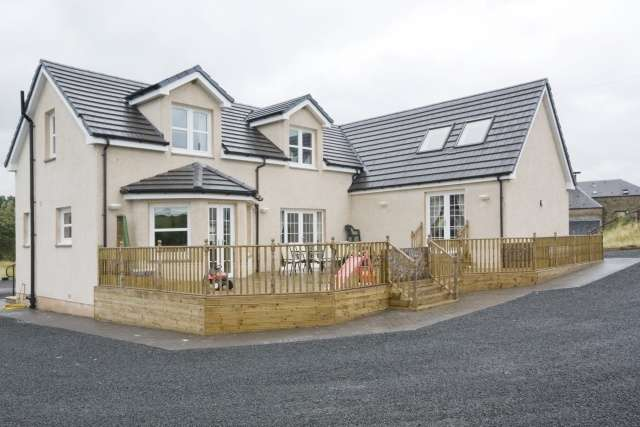 5 Bedrooms Detached House for sale in Old Mill Road, Lanarkshire, Allanton, ML7 5BX