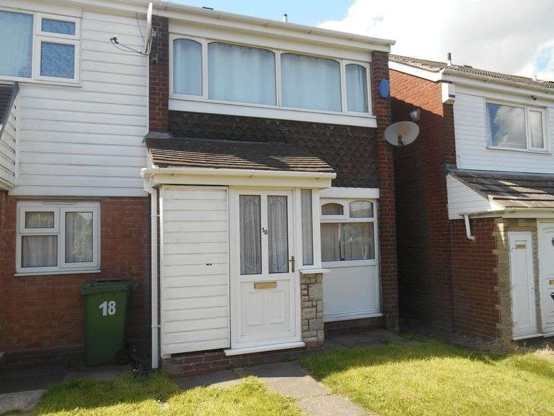 2 Bedrooms Terraced House for sale in Achilles Close, GREAT WYRLEY