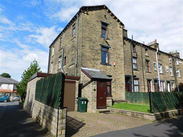 3 Bedrooms End Of Terrace House for sale in Etna Street, Bradford
