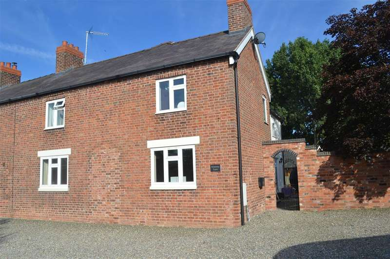 4 Bedrooms Semi Detached House for sale in Stimmey Farm Ellesmere Road, Bronington, Whitchurch