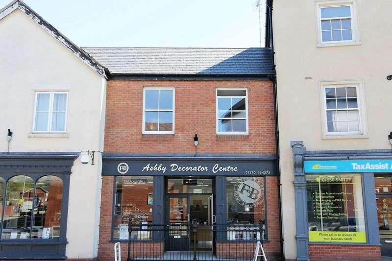 1 Bedroom Flat for sale in Flat 4 The Regency, Derby Road, Ashby-De-La-Zouch, LE65 2AG