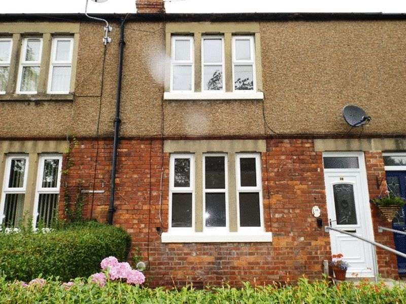2 Bedrooms Terraced House for sale in Wellwood Gardens, Morpeth - Two Bedroom Terrace House