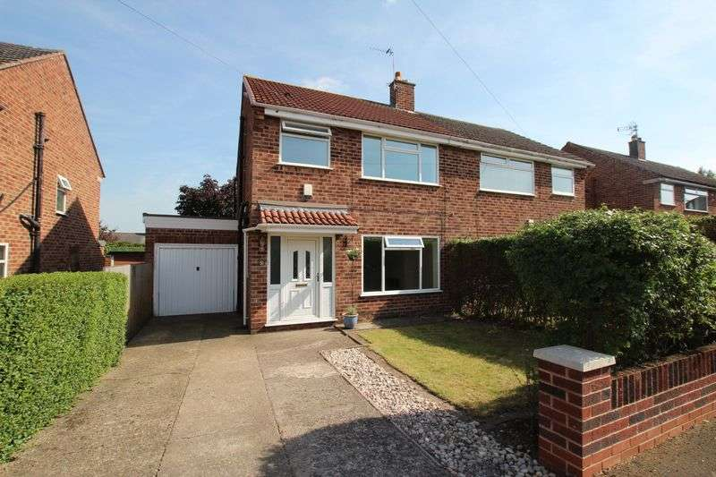 3 Bedrooms Semi Detached House for sale in Milton Crescent, Heswall