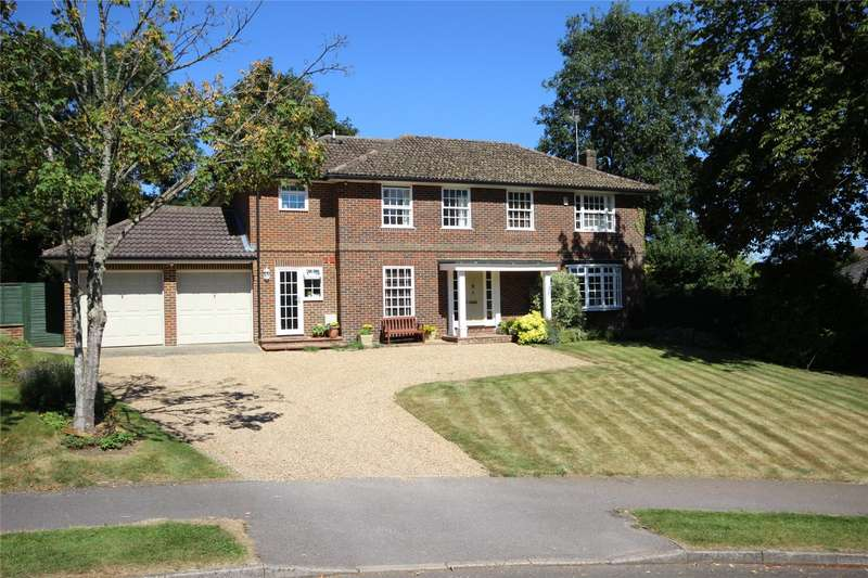 4 Bedrooms Detached House for sale in Nash Meadows, South Warnborough, Hook, Hampshire, RG29