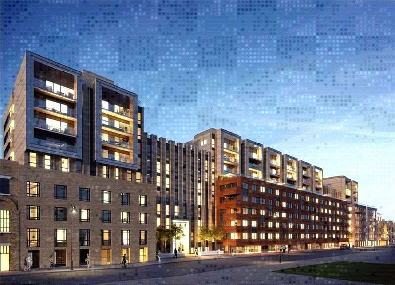 1 Bedroom Flat for sale in Merchant Building, City Wharf, Wharf Road, London, N1