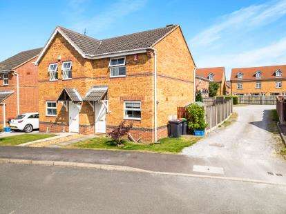 2 Bedrooms Semi Detached House for sale in The Headstocks, Huthwaite, Sutton-In-Ashfield, Notts