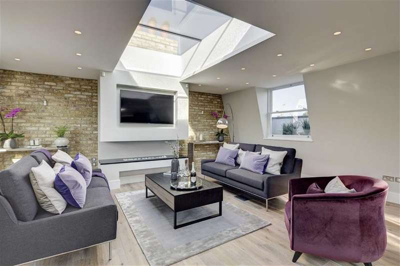 3 Bedrooms Property for sale in Warwick Gardens, Kensington, London, W14