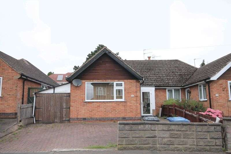 2 Bedrooms Semi Detached Bungalow for sale in ST. CHADS ROAD, DERBY