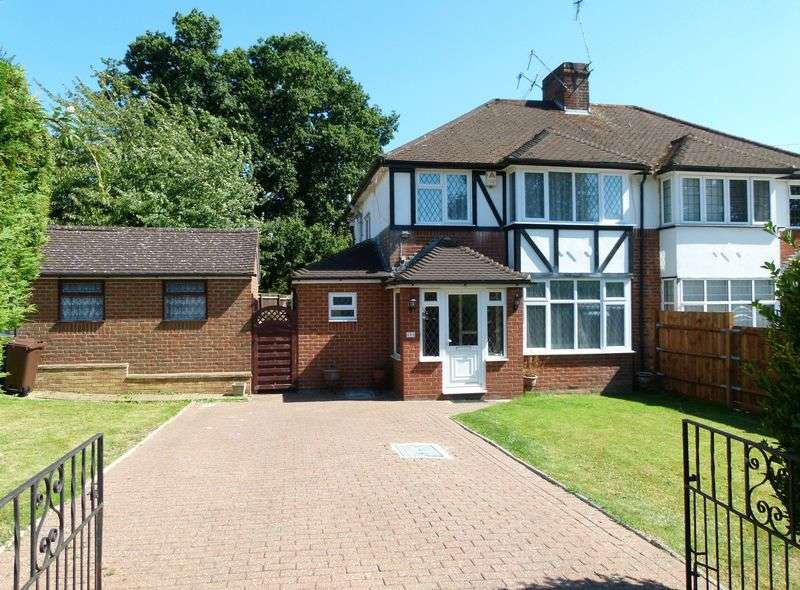 3 Bedrooms Semi Detached House for sale in Watford Road, Chiswell Green