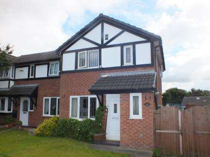 3 Bedrooms Semi Detached House for sale in Chiltern Meadow, Leyland, Lancashire