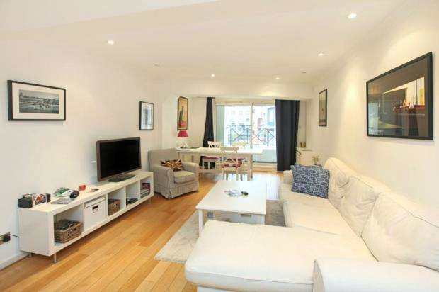 1 Bedroom Flat for sale in Eagle Wharf Court, Lafone Street, London
